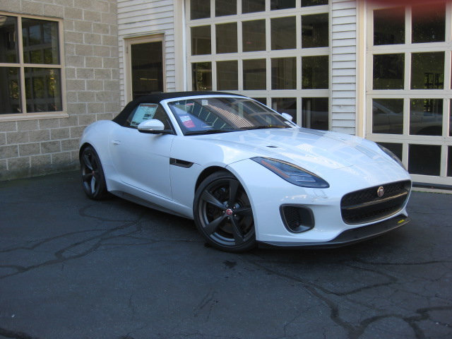 New 2018 Jaguar F TYPE Convertible Automatic 400 Sport AWD