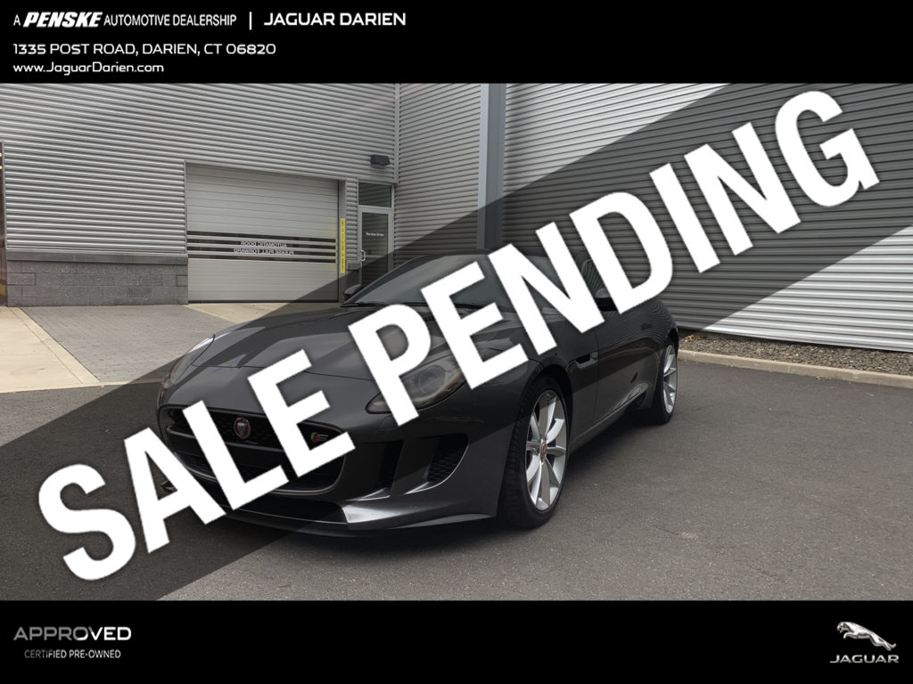 Certified Pre-Owned 2016 Jaguar F-TYPE 2dr Coupe Manual S RWD
