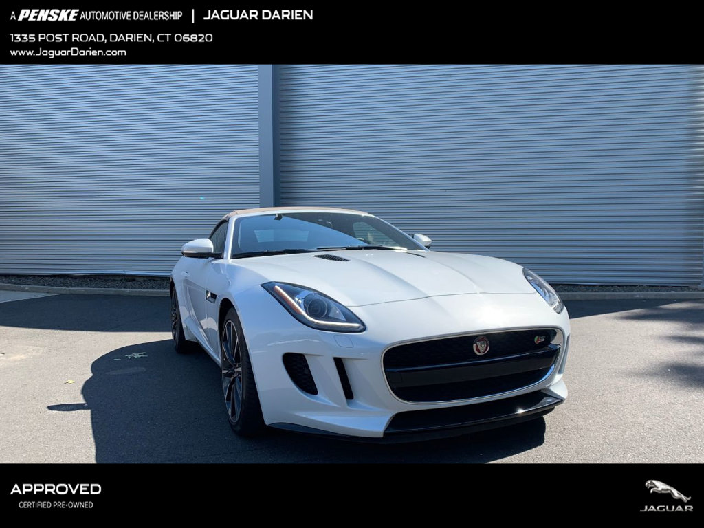 Certified Pre-Owned 2016 Jaguar F-TYPE 2dr Convertible Manual S RWD