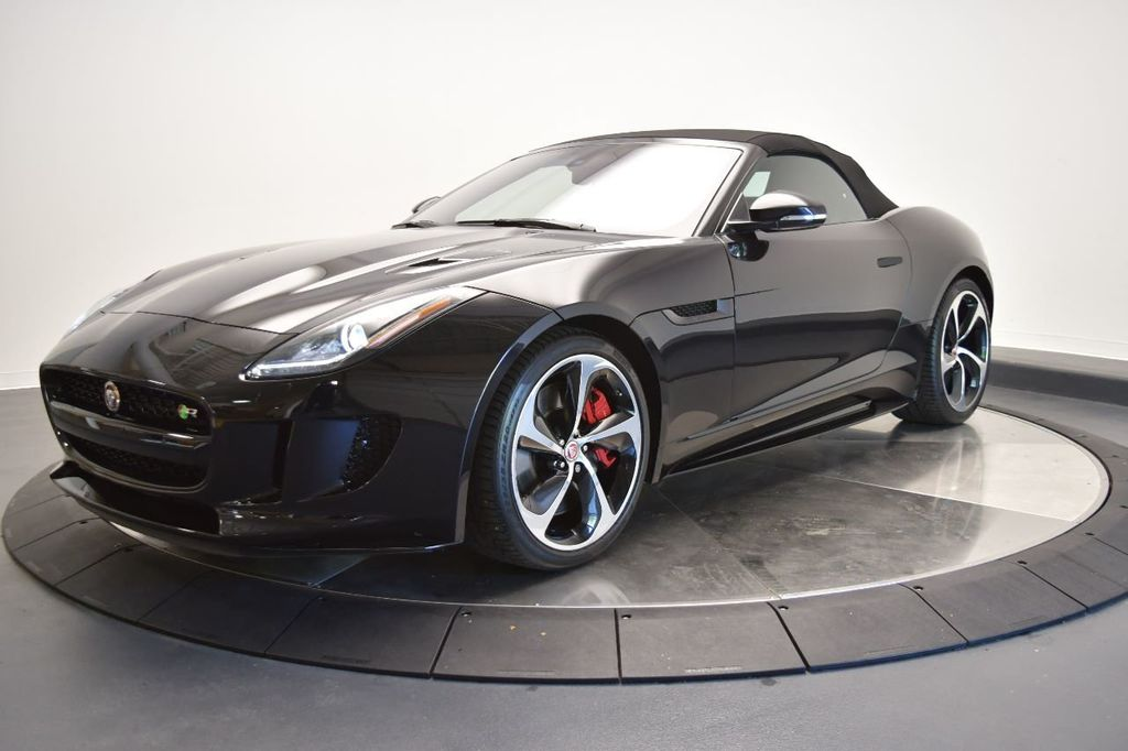 Certified Pre-Owned 2017 Jaguar F-TYPE Convertible Automatic R AWD